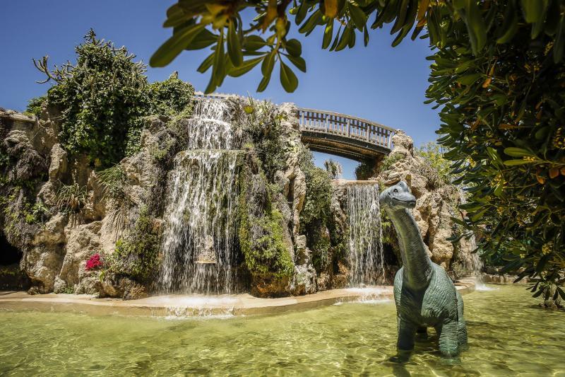 Visitar Cádiz con niños en el parque de genoves
