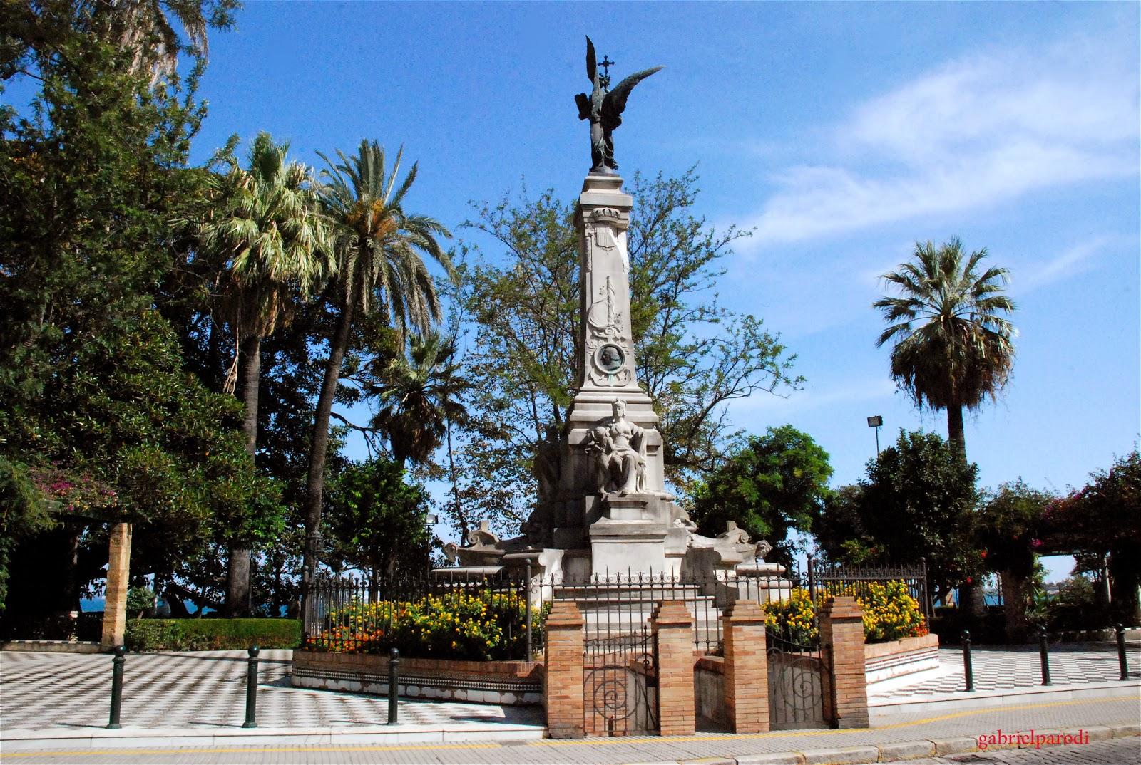 visitar la Alameda Apodaca de Cádiz con Cadizfornia Tours gratis Andalucia