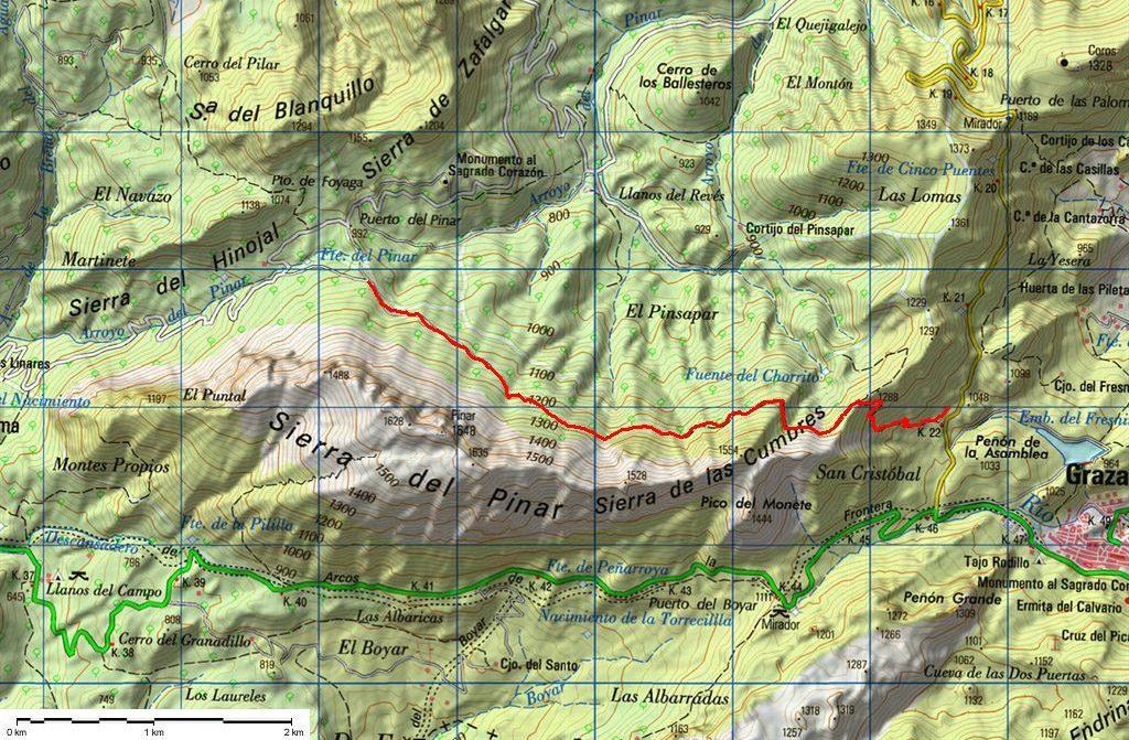 Mapa Ruta Pinsapar